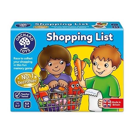 Joc educativ in limba engleza lista de cumparaturi shopping list, Orchard Toys*