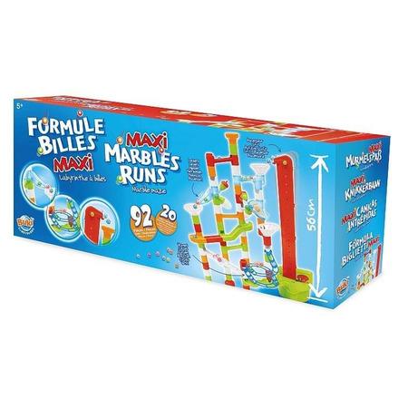 Joc de constructie - labirint mare cu bile - 92 piese, Buki France*
