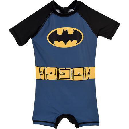 Costum de baie UV cu maneci scurte si fermoar Batman SunCity SE1955, albastru*