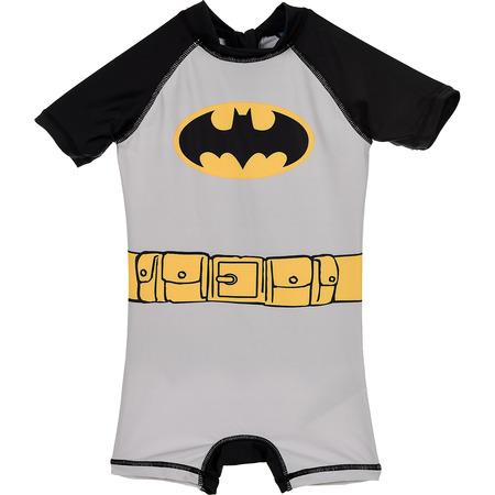 Costum de baie UV cu maneci scurte si fermoar Batman SunCity SE1955, gri*