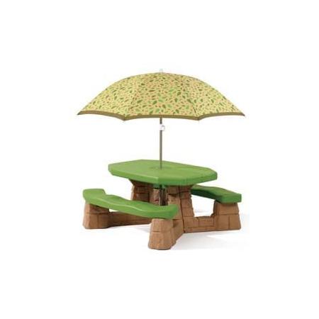 Masa picnic, cu umbrela varianta recolor, Step2*