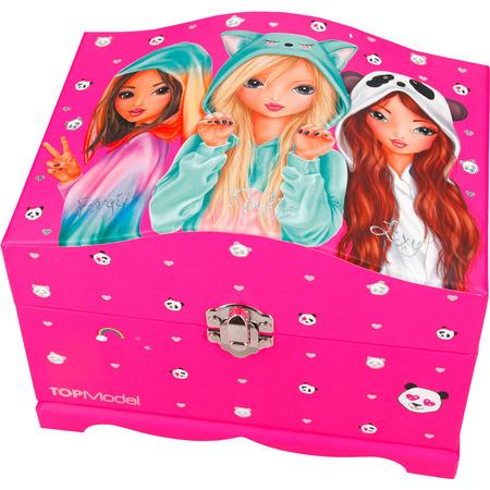 Top Model Cutie Bijuterii cu luminite Roz Depesche PT2337*