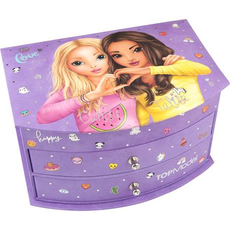 Cutie de Bijuterii Purple Top Model Depesche PT10045, mov*