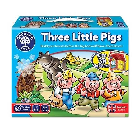 Joc de societate cei trei purcelusi three little pigs, Orchard Toys*