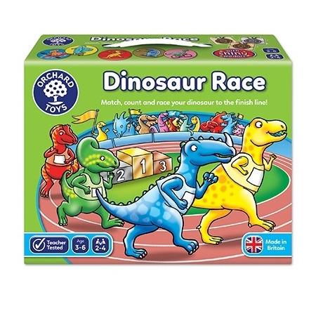 Joc de societate intrecerea dinozaurilor dinosaur race, Orchard Toys*