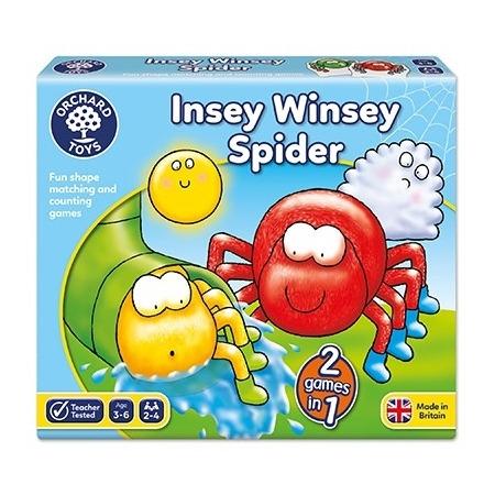 Joc educativ cursa paianjenilor insey winsey spider, Orchard Toys*