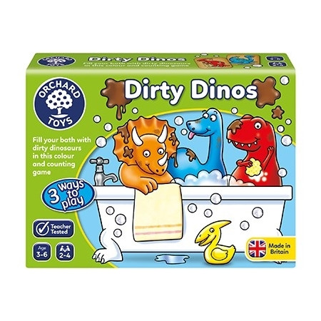 Joc educativ dinozauri murdari dirty dinos, Orchard Toys*