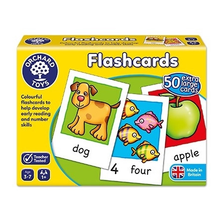 Joc educativ in limba engleza cartonase flashcards, Orchard Toys*