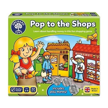 Joc educativ la cumparaturi pop to the shops, Orchard Toys*