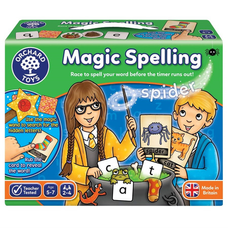 Joc educativ in limba engleza silabisirea magica magic spelling, Orchard Toys*