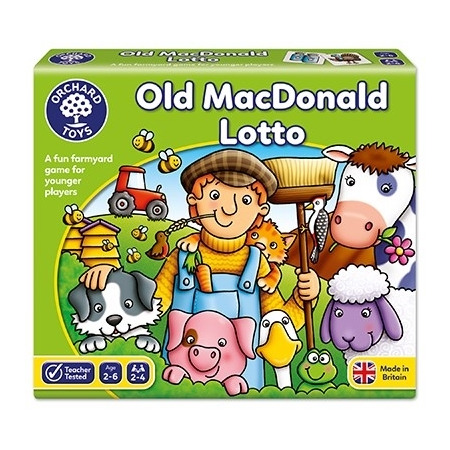 Joc educativ loto old macdonald, Orchard Toys*