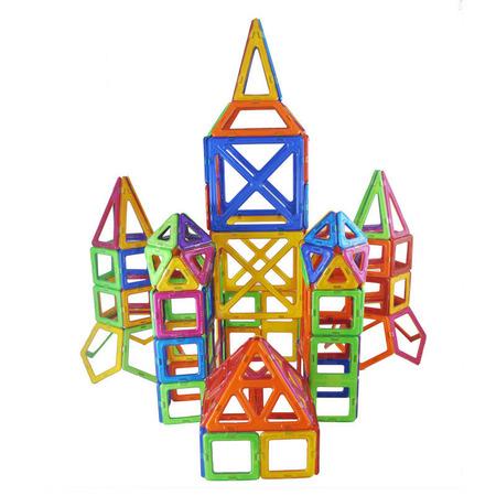 Joc de constructie magnetic - 268 piese, Magplayer*