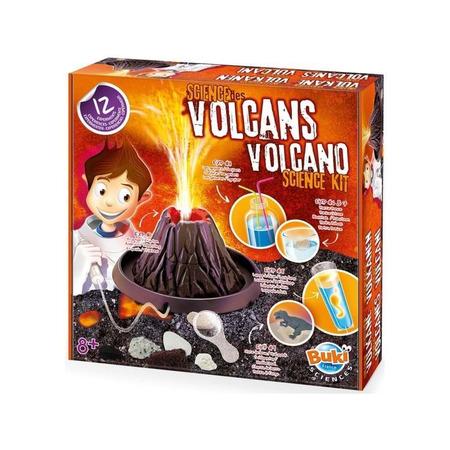 Stiinta vulcanilor - 12 experimente, Buki France*