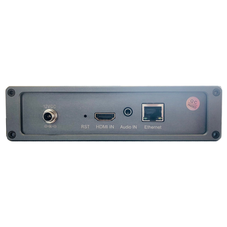 Hdmi Encoder H.264/H.265, 4K UHD, Live Transcoder 4 canale, Youtube, streaming HTTP, RTP, RTSP, usb, card tf, Bervolo Uno®