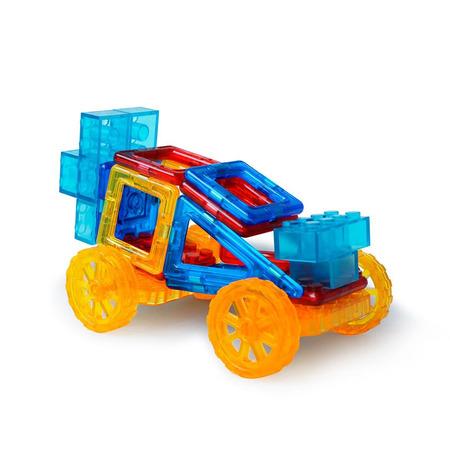 Joc de constructie magnetic - Masinuta si robotel, Magplayer*