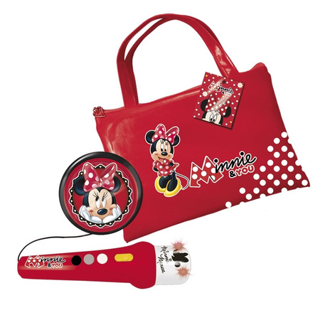 Geanta cu microfon si amplificator minnie mouse, Reig Musicales*