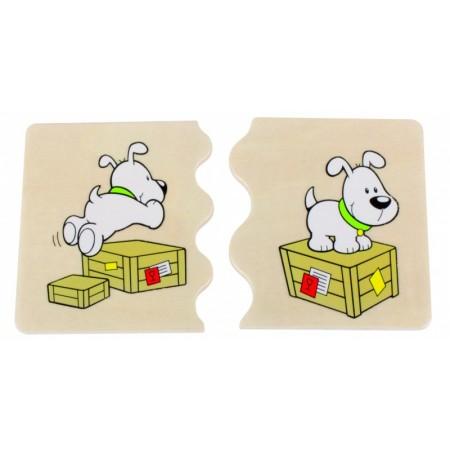 Joc Puzzle Cognito Relatii Spatiale - Beleduc