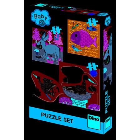 Baby Puzzle - Unde locuiesc animalele?, Dino Toys*