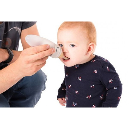 Dispener mancare Bo Jungle pentru bebelusi Albastru*