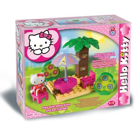 Set constructie Unico Plus Hello Kitty Picnic, Androni Giocattoli*