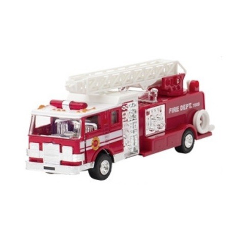 Masinuta de pompieri Die Cast cu sunete si lumini*