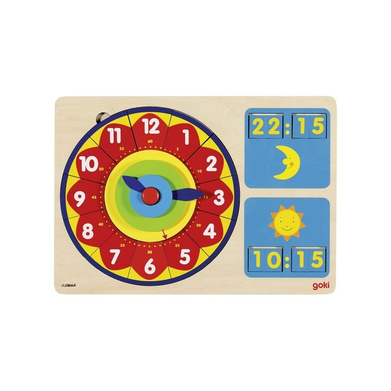Ceas puzzle Analog-Digital