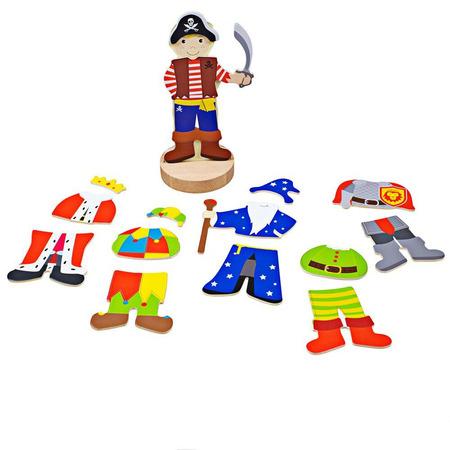 Joc magnetic - Costume de carnaval, Bigjigs*