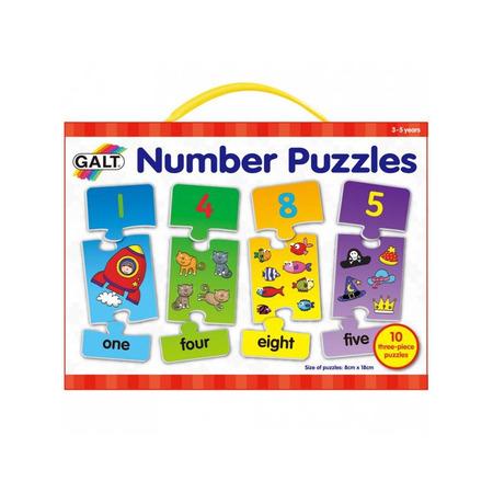 Puzzle cu numere (3 piese), Galt*
