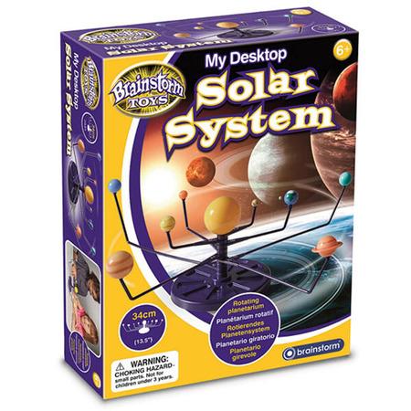 Sistem solar pentru birou, Brainstorm*