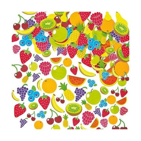 Autocolante din spuma Fructe - Baker Ross*