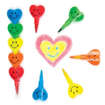 Creioane colorate Inimioare Baker Ross*