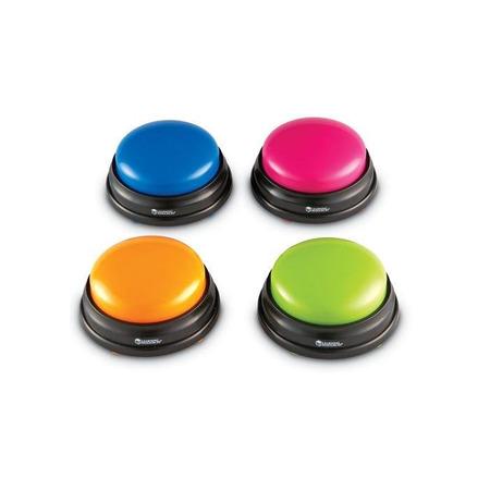Buzzers (cu sunete pentru raspuns) - set 4 buc, Learning Resources*