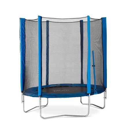 Set trambulina cu plasa de protectie Junior Blue 140 cm PLUM*