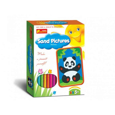Joc pentru copii Pictura in nisip Panda RANOK*