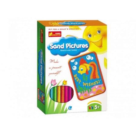 Joc pentru copii Pictura in nisip Peste RANOK*