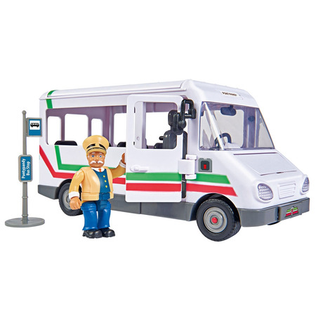 Autobuz Simba Fireman Sam Trevors Bus cu figurina*