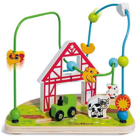 Jucarie Eichhorn Bead Maze Farm*