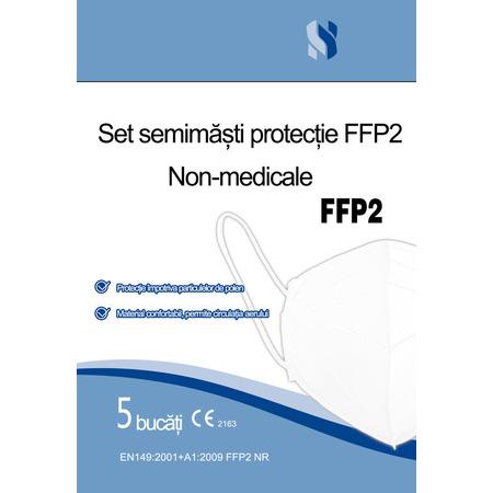 Set 5 semimasti de protectie FFP2, Baoding*