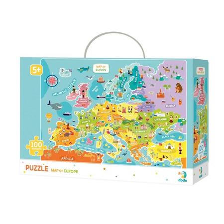 Puzzle - Descopera Europa (100 piese), Dodo*