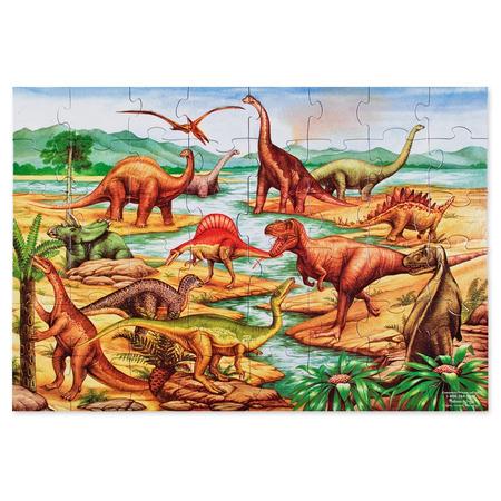 Puzzle de podea cu dinozauri Melissa and Doug*