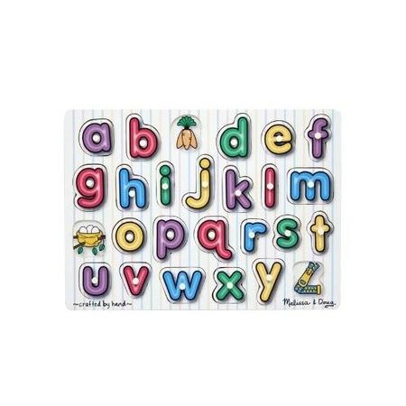 Puzzle lemn Alfabet Melissa and Doug*