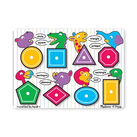 Puzzle lemn Forme geometrice Melissa and Doug*