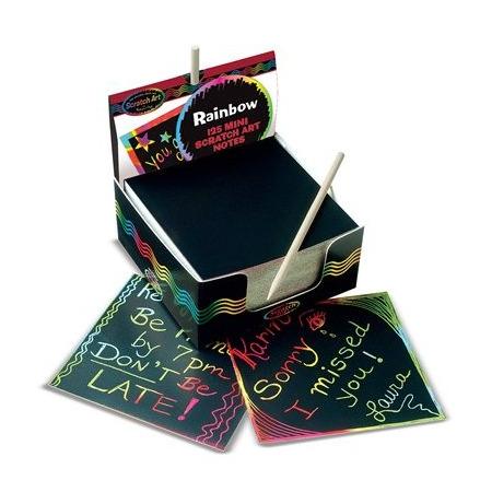 Cub notes hartie pentru scriere prin razuire Melissa and Doug*