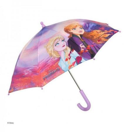 Umbrela manuala 42 cm cu inchidere cu siguranta Frozen 2*