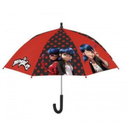 Umbrela manuala 42 cm cu inchidere cu siguranta Lady Bug*