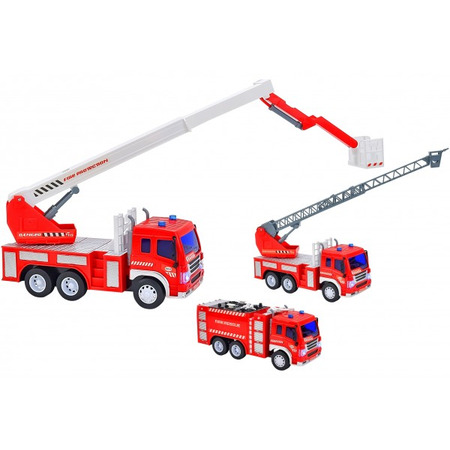 Masina de pompieri pentru copii Globo cu sunete si lumini , Globo Scuderia*