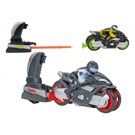 Motocicleta cu lansator Globo pentru copii*