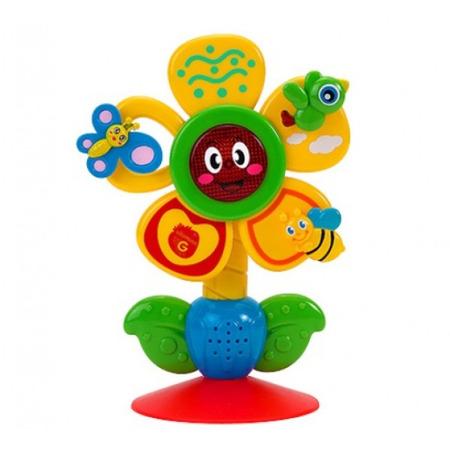 Jucarie muzicala Globo floare pentru bebelusi cu lumini si sunete*