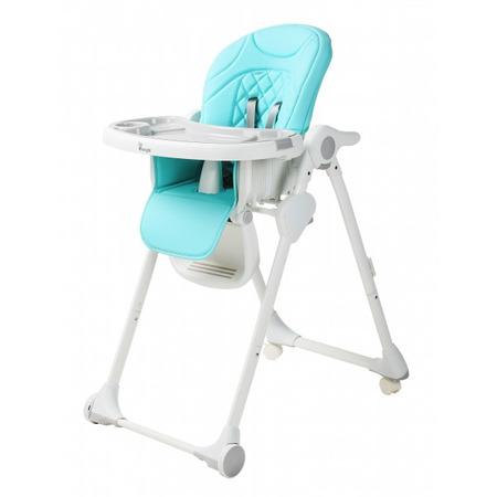 Scaun de masa pentru copii Bo Jungle Wheely Bleu*