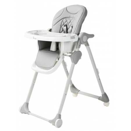 Scaun de masa pentru copii Bo Jungle Wheely Gri*